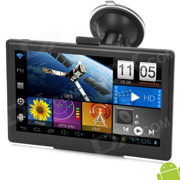 Ipum7053av 7 Quot Led Android 4 0 Car Gps Navigator W Av In