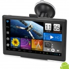 "IPUM7053AV 7"" LED Android 4.0 Car GPS Navigator w/ AV-IN - Black (8GB Memory + European Map)"