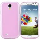 Protective TPU Back Cover Case w/ Waterproof Bag for Samsung Galaxy S4 / i9500 - Light Purple