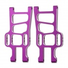 HSP 108019 Aluminum Front Lower Suspension Arms For 1/10 RC Car - Purple (2 PCS)