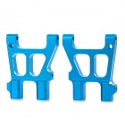 HSP 122021 Replacement Aluminum Alloy Rear Lower Suspension Arm for 1/10 RC Cars - Blue (2 PCS)