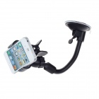 Car Suction Cup Holder Stand Mount for Mobile Phone / PSP / PDA / MP4 - Black