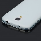 Protective Matte PVC Back Case w/ Anti-dust Plug / Stylus for Samsung Galaxy S4 / i9500