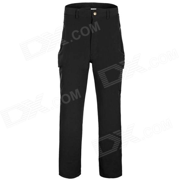 Outdoor Man's Fast Drying Hiking Trekking Trousers - Black (Size XL) itap vienna 119 1 2 кран шаровой муфта резьба стандартный проход бабочка