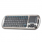 SEENDA SD-810-18V 2.4G RF Mini Bluetooth v2.0 Infrared 89-Key Air Mouse w/ Touch Screen - Black