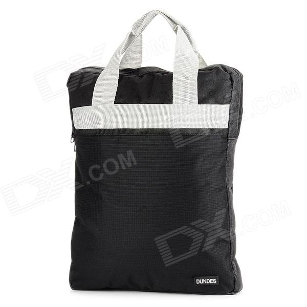 DUNDES HQS-G100051 Men's Portable Waterproof Oxford Business / Travel Bag for PC - Black