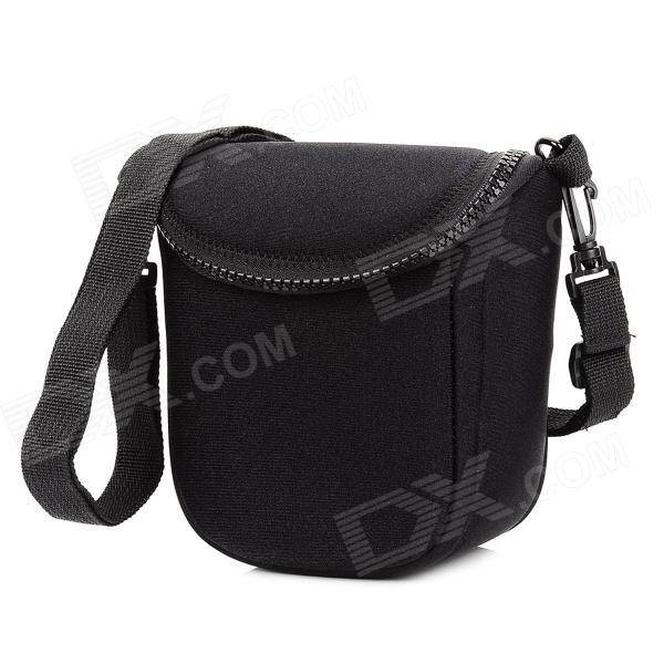 BBF-BK Fashion Protective Neoprene Shoulder Bag for ILDC / Camera - Black