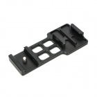 Aluminum Alloy 20mm Rail Mount for Camcorder GoPro Hero 2 / 3 - Black