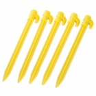 ABS Outdoor Camping Tent Peg - Gelb