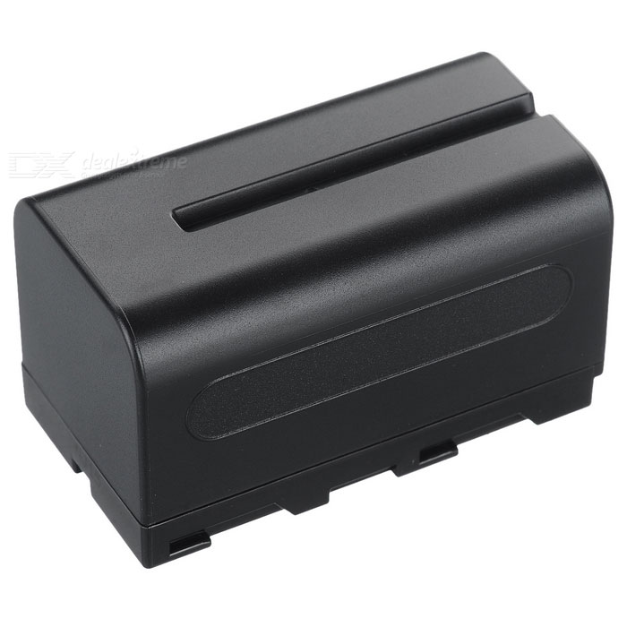 DSTE Replacement 5000mAh Li-ion Battery for Sony NP-F750, F730, F790, TRV72, TRV75, TRV81 - Black зарядное устройство для фотокамеры oem bc sony np fv100 dcr sr68 hdr xr350e cargador dcr dvd103 5 bc trv