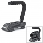 Commlite CS-VXII Wheel Style Video & Camera Mini Stabilizing Handle - Black