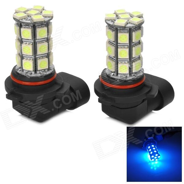 LY315 9006 8W 324lm 490~450nm 27-SMD 5050 LED Ice Blue Car Foglights / Running Lights (2 PCS)