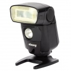 "OLOONG 551EX 1.5"" LCD Flash Speedlite Speedlight for Canon 1100D / 5DII + More - Black (4 x AA)"