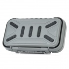 Waterproof Portable Fishing Tool Storage Box - Grey (Size L)