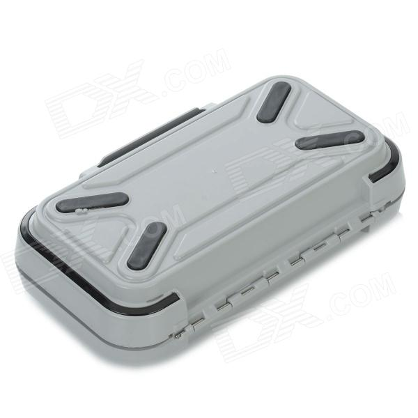 Waterproof Portable Fishing Tool Storage Box Grey Size