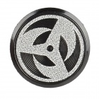 Unique Aluminum Alloy Home Button Sticker for Iphone / Ipad / Ipod - Black + White