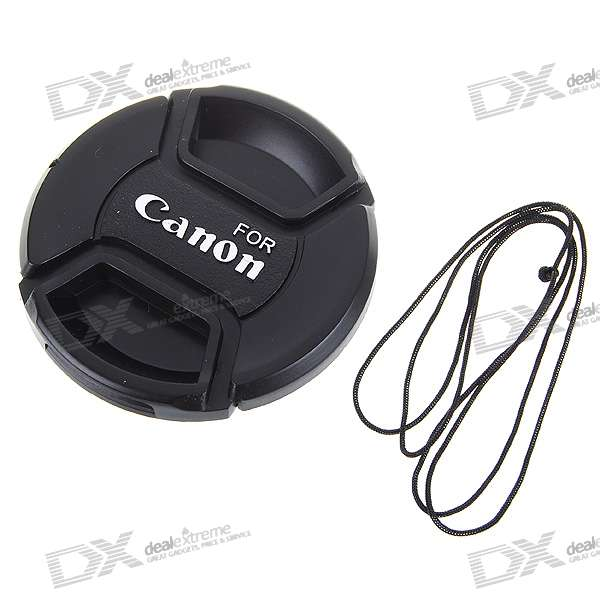LVSHI 58mm Protective Lens Cover for Canon Digital Camera