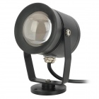JR-10W Waterproof 10W 800lm LED Warm White Underwater Light - Black