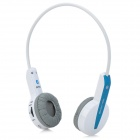 ShengYun BH560 Bluetooth V3.0 + EDR Stereo Headset for Iphone 4 / 4S / 5 - Blue + White