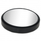 75mm Spherical Convex Car Blind Spot Rearview Mirror - Black + Silver