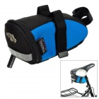 Venzo F21-005 Bike Bicycle Saddle Seat Tools Bag - Blue + Black