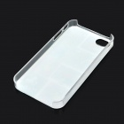 Stylish Graffiti Style Protective Plastic Back Case for Iphone 4S / 4 - Multicolored