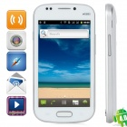 "MPI9082 MTK6515 Android 4.0 GSM Bar Phone w / 4.0 ""kapazitiver Schirm, Quad-Band-und Wi-Fi - Weiß"
