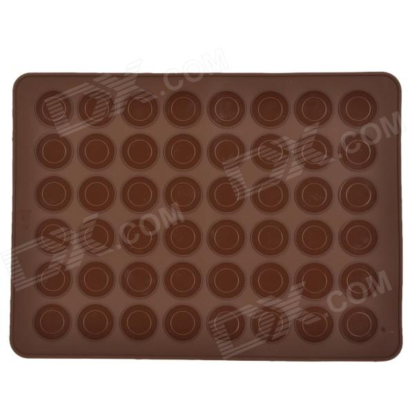 Round Dot Macaroon Biscuit Chocolate / Ice Tray Mold - Coffee cutting sliced toast mold white coffee