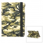 360 Degree Rotating Camouflage Pattern Protective PU Leather Smart Case for iPad Mini - Camouflage