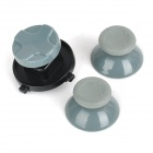 Replacement Wireless Analog Joystick Caps + D-Pad for Xbox 360 Controller - Grey