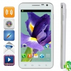 "E120L Dual-Core Android 4.0 WCDMA Bar Phone w/ 4.7"" Capacitive Screen, Wi-Fi and GPS - White"