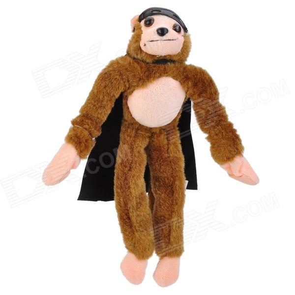 Flingshot Slingshot fliegen Screaming Monkey - Brown