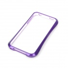 NEWTOP Protective Plastic Bumper Frame for Iphone 4 / Iphone 4S - Purple