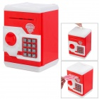 Creative Code Case Style Automatic Coin Back - Red + White