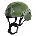 Tanluren SW2143 Tactical Filed War Game / Motorcycling Helmet - Army Green
