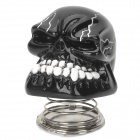 YB13032101 DIY Car Decoration Spring Skull - White + Black