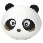 Cute Panda Style Marine Scent Car Air Refresher - White + Black