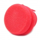 Cute Hat Style Sponge Buckle Hair Curler Balls - Red (4 PCS)