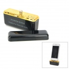 2600mAh USB Rechargeable Mobile Power Bank for iPhone 5 / iPod Nano 7 / iPad Mini - Black + Golden
