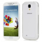 Vser Protective Plastic Back Case for Samsung Galaxy S4 / i9500 - White + Transparent