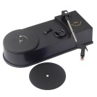 EC008B Mini USB Turntable Turnplate Vinyl LP do MP3 převodníku