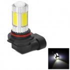 HJ-M1307 9006 5W 600lm 6000K 4-COB LED + 1-Cree XP-E White Light Car Light - (12~30V)