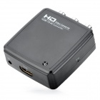 HD2R01 HDMI to AV Audio Video Converter - Black + White