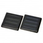 Polysilicon Solar Powered Battery Panel Board - Green + Black (2 PCS)