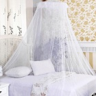 Princess Dome Mosquito Curtain - White