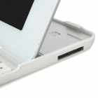 K83 Ultra-thin Wireless Bluetooth V3.0 82-Key Keyboard for The New Ipad / Ipad 4 / 2 - Silver