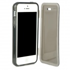 Simple Compact Protective TPU Case for Iphone 5 - Black