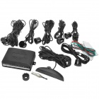"6-Sensor 2.8"" LED Display Car Ultrasonic Reversing / Parking Sensor System - Black"
