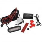 "1.5"" LED Electromagnetic Back-up Parking Sensor - Black"