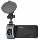 "2.7"" TFT HD 1080P 5.0MP Wide Angle Car DVR Camcorder w/ G-Sensor / Mini HDMI - Black + Grey"